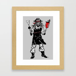 Boneyard Jenkins Framed Art Print
