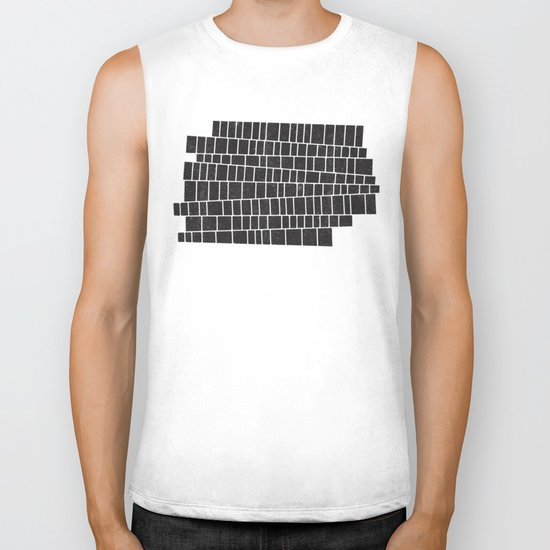 impossible stairs Biker Tank
