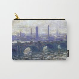 Monet Bridge Carry-All Pouch