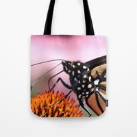 furry Tote Bags featuring Furry Fellow by IowaShots