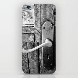 Surprised Door Handle iPhone Skin
