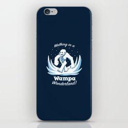 Walking in a Wampa Wonderland iPhone Skin