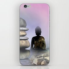 silence and meditation -3- iPhone & iPod Skin