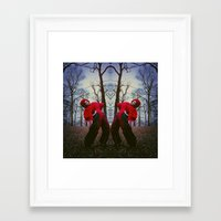 charmaine Framed Art Prints featuring DoubleTrouble. by RavenBlakh
