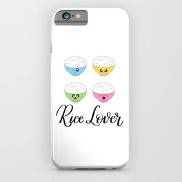 Rice Lover iPhone Case