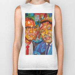 Malcolm X King Biker Tank