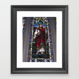 Lovest Thou Me Framed Art Print