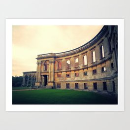 Witley Court at Dawn Art Print