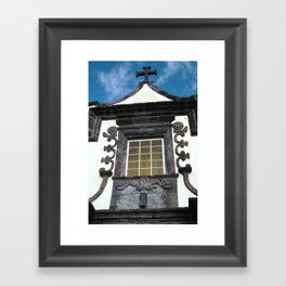Religious architecture Framed Art Print