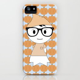 Hipster Ghost iPhone Case