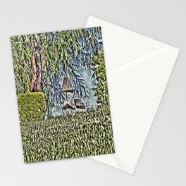 A Middle Ages Church Stationery Cards