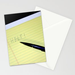 Notepad Pen Help Stationery Cards