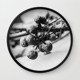 Winter is comming Wall Clock