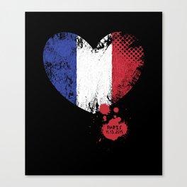 Paris 11.13.2015 Canvas Print