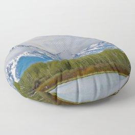 Grand Tetons Floor Pillow