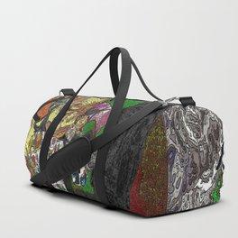 Whacky Bags pattern Duffle Bag