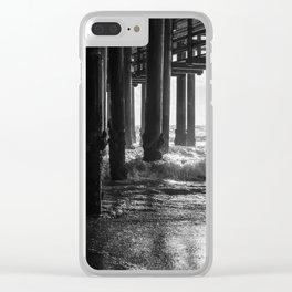 Sta. Monica Pier Clear iPhone Case