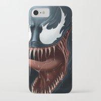 venom iPhone & iPod Cases featuring Venom by Fr0stArt