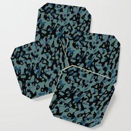 blue camo Coaster