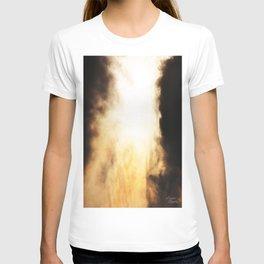 Eguna erretzen ari da T-shirt
