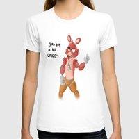 fnaf T-shirts featuring FNAF: Foxy by Peppermintartsy101