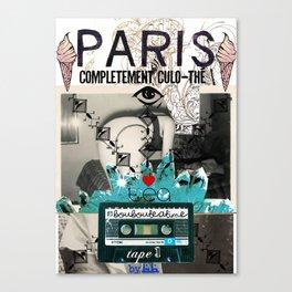 Paris Culo-thé Canvas Print