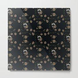 Susan's Bees Metal Print