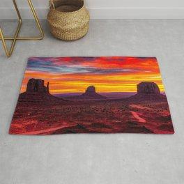 Monument Valley, Utah No. 1 Rug
