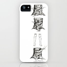 Stumped by Josh Brulotte iPhone Case