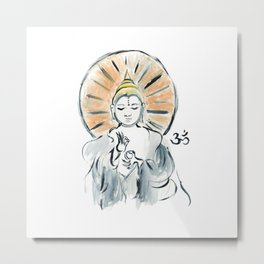 Buddha! ~ Joy I Metal Print