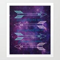 allison argent Art Prints featuring Argent Code by Captain Emily J.O.