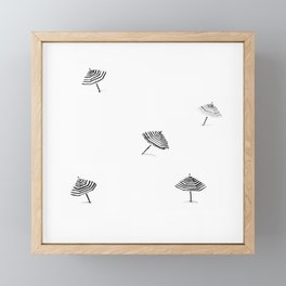 Summer Shade Framed Mini Art Print