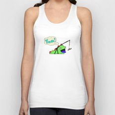 Hungry Slug Monster Unisex Tank Top