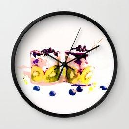 Summer Drinkin' #society6 #decor #buyart Wall Clock