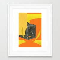 spider Framed Art Prints featuring SPIDER by Ira Carter