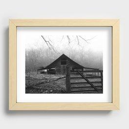 old barn Recessed Framed Print