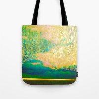 murakami Tote Bags featuring Storm by Neelie