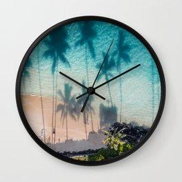 EAST SIDE PALM Wall Clock