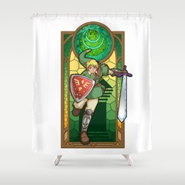 Link Hero Of Courage Shower Curtain