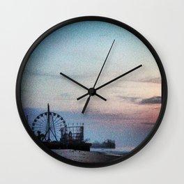 Funtown Pier Wall Clock