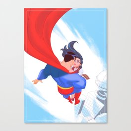 Lois&Clark Canvas Print