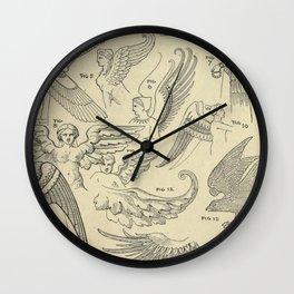 Winged Mythology Wall Clock