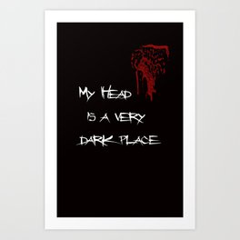 Dark Place Art Print