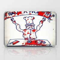 swedish iPad Cases featuring Swedish Chef Unrated by Jussi Lovewell
