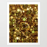 solid color Art Prints featuring :: Solid Gold :: by :: GaleStorm Artworks ::
