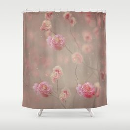 Rose, rose, red rose,  Rose in the heather... Shower Curtain