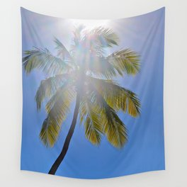 Sun Palm Wall Tapestry