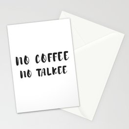 Funny Coffee Saying graphic, Coffee Gift, Coffee Lover design Stationery Cards