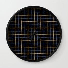 Aberdeen, Alpine,  Resolution Blue,  Camel, Tattered Salvatore Wall Clock