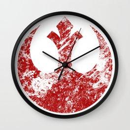 Rebel Alliance (Red) Wall Clock
